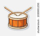 vector illustration. classic... | Shutterstock .eps vector #1030001350