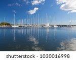 ruegen island germany ... | Shutterstock . vector #1030016998