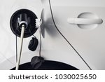 electric car  electric vehicle | Shutterstock . vector #1030025650