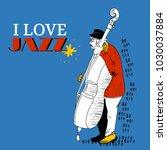 illustration for jazz festival  ... | Shutterstock .eps vector #1030037884