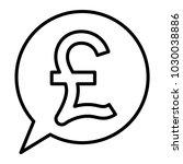 pound symbol  pound money icon... | Shutterstock .eps vector #1030038886