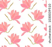 vector seamless pattern with... | Shutterstock .eps vector #1030039510