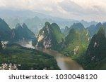 lijiang china guilin panorama   Shutterstock . vector #1030048120