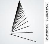 vector hipster triangle... | Shutterstock .eps vector #1030055929