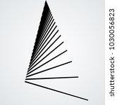 vector hipster triangle... | Shutterstock .eps vector #1030056823