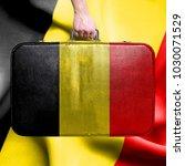 travel to belgium | Shutterstock . vector #1030071529