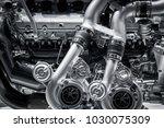close up of the mechanics of a...   Shutterstock . vector #1030075309