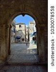 korcula  croatia   july 12 ... | Shutterstock . vector #1030078558