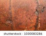 rusty golden colored panels | Shutterstock . vector #1030083286