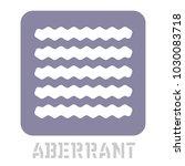 aberrant conceptual graphic... | Shutterstock .eps vector #1030083718
