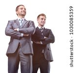 two leading specialists of the...   Shutterstock . vector #1030085359