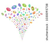 multi colored vision exploding...   Shutterstock .eps vector #1030093738