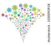 multi colored virus explosion...   Shutterstock .eps vector #1030093918