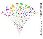 multicolored user burst...   Shutterstock .eps vector #1030095358