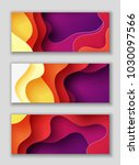horizontal rectangle banners... | Shutterstock .eps vector #1030097566