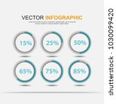 infographic elements chart... | Shutterstock .eps vector #1030099420