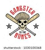 gangster emblem  label  print ... | Shutterstock .eps vector #1030100368