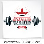 weight lifting championship... | Shutterstock .eps vector #1030102204