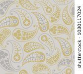 seamless paisley texture for... | Shutterstock .eps vector #1030117024
