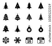 solid vector icon set  ... | Shutterstock .eps vector #1030122319