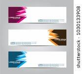 banner background.modern vector ... | Shutterstock .eps vector #1030133908