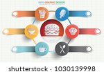 food and drink info graphic... | Shutterstock .eps vector #1030139998