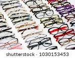 glasses for sight. fashion... | Shutterstock . vector #1030153453