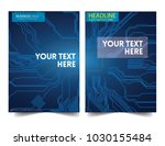 circuit board. electronic... | Shutterstock .eps vector #1030155484