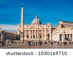 St. Peter's Square And Saint...