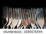 many fork background  | Shutterstock . vector #1030176544