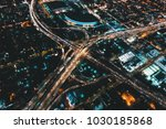 aerial view of a massive... | Shutterstock . vector #1030185868