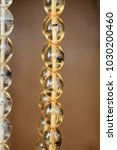 beautiful beads of the same... | Shutterstock . vector #1030200460