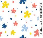 abstract seamless pattern... | Shutterstock .eps vector #1030204654