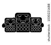 calculators school supplies... | Shutterstock .eps vector #1030221688
