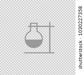test tube vector icon eps 10.... | Shutterstock .eps vector #1030227358