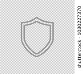 shield vector icon eps 10.... | Shutterstock .eps vector #1030227370