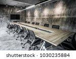 interior business meeting room  ... | Shutterstock . vector #1030235884