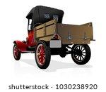 vector retro truck. available... | Shutterstock .eps vector #1030238920