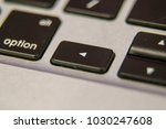 left arrow symbol keyboard key... | Shutterstock . vector #1030247608