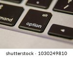 alt option symbol keyboard key... | Shutterstock . vector #1030249810