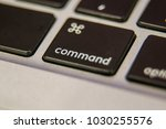command key symbol keyboard key ... | Shutterstock . vector #1030255576