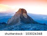 st. john's peak on mount... | Shutterstock . vector #103026368