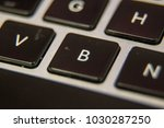 b keyboard key button press... | Shutterstock . vector #1030287250