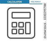calculator icon. professional ... | Shutterstock .eps vector #1030295788
