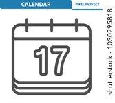 calendar icon. professional ... | Shutterstock .eps vector #1030295818
