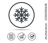 snowflake icon. air... | Shutterstock .eps vector #1030300648
