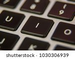 i keyboard key button press... | Shutterstock . vector #1030306939