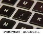 j keyboard key button press... | Shutterstock . vector #1030307818
