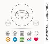 diamond engagement ring icon.... | Shutterstock .eps vector #1030307860