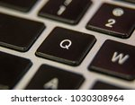 q keyboard key button press... | Shutterstock . vector #1030308964